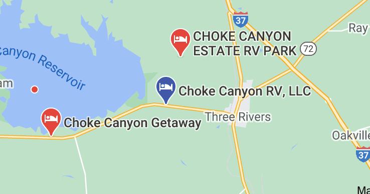 choke canyon rv park